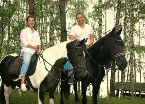 покататься на лошадях в подмосковье